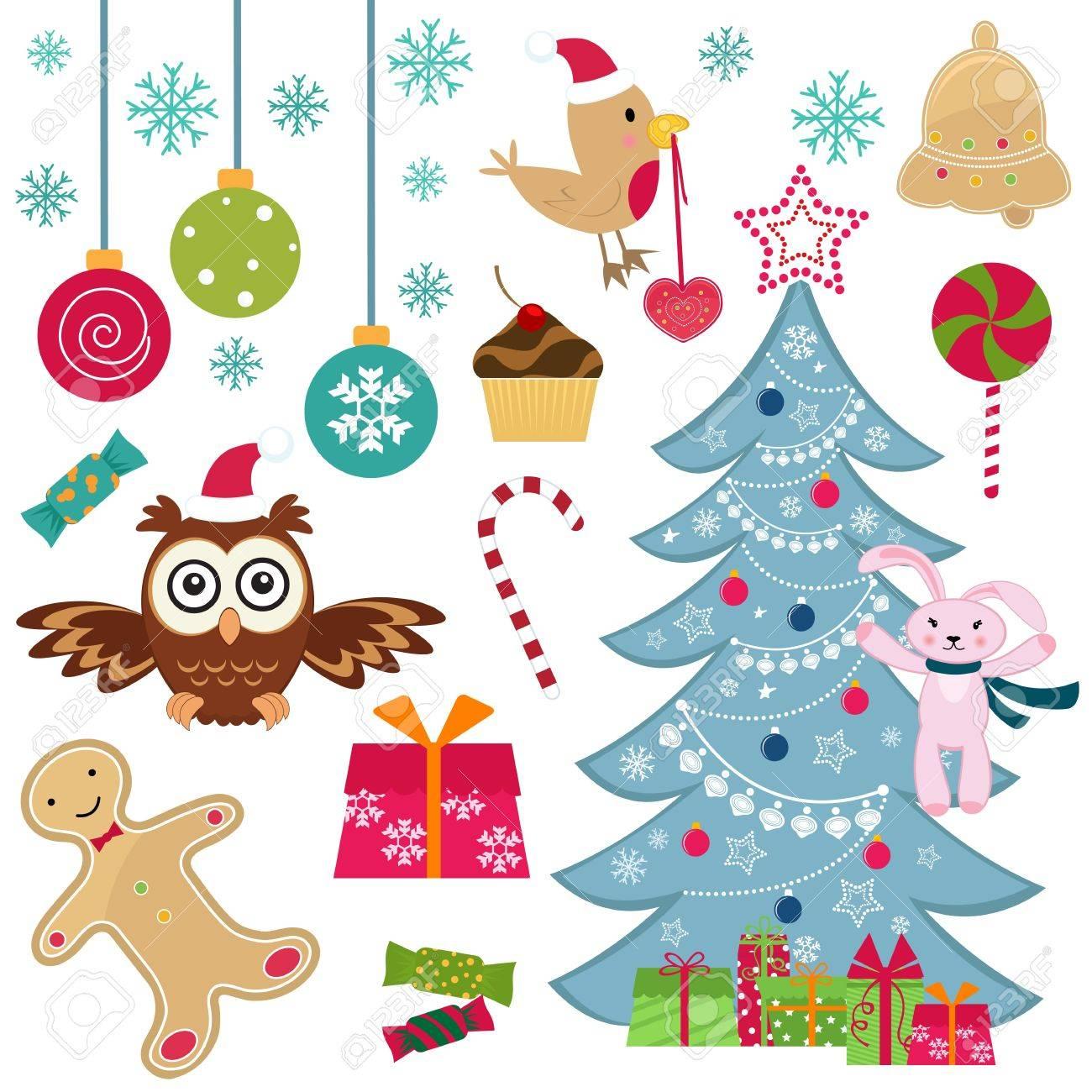 Christmas set Stock Vector - 11344683