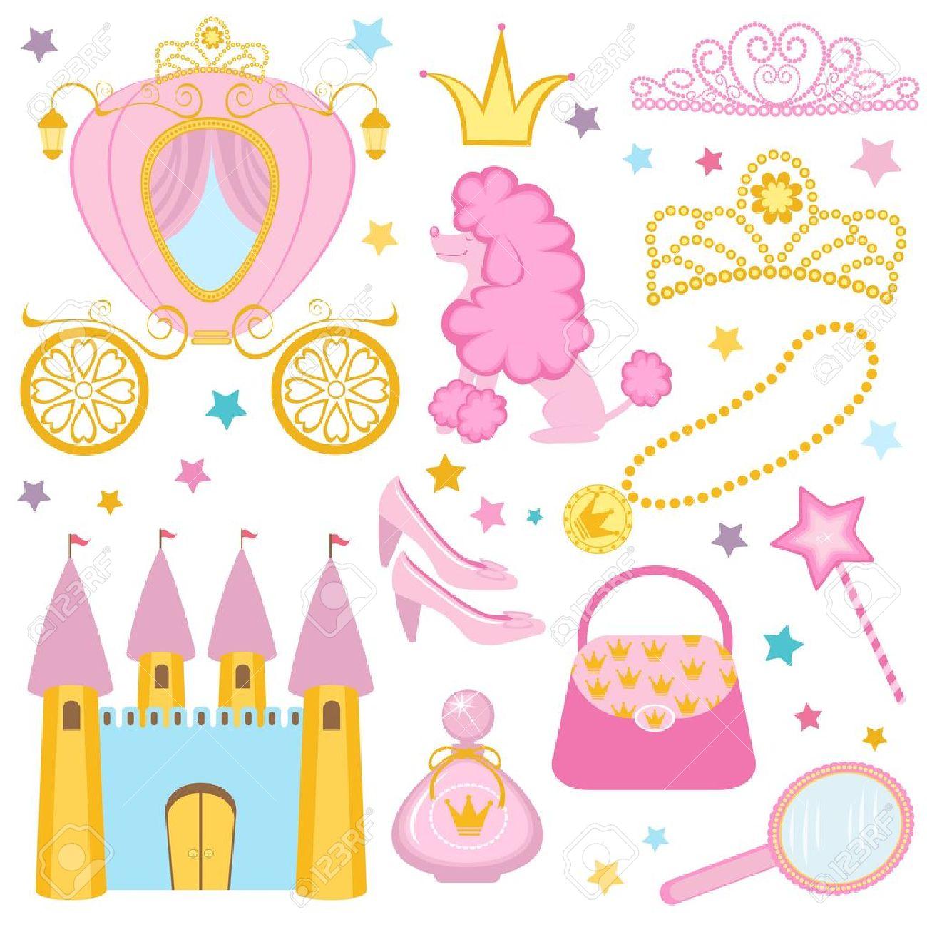 Cute princess collection Stock Vector - 14054066