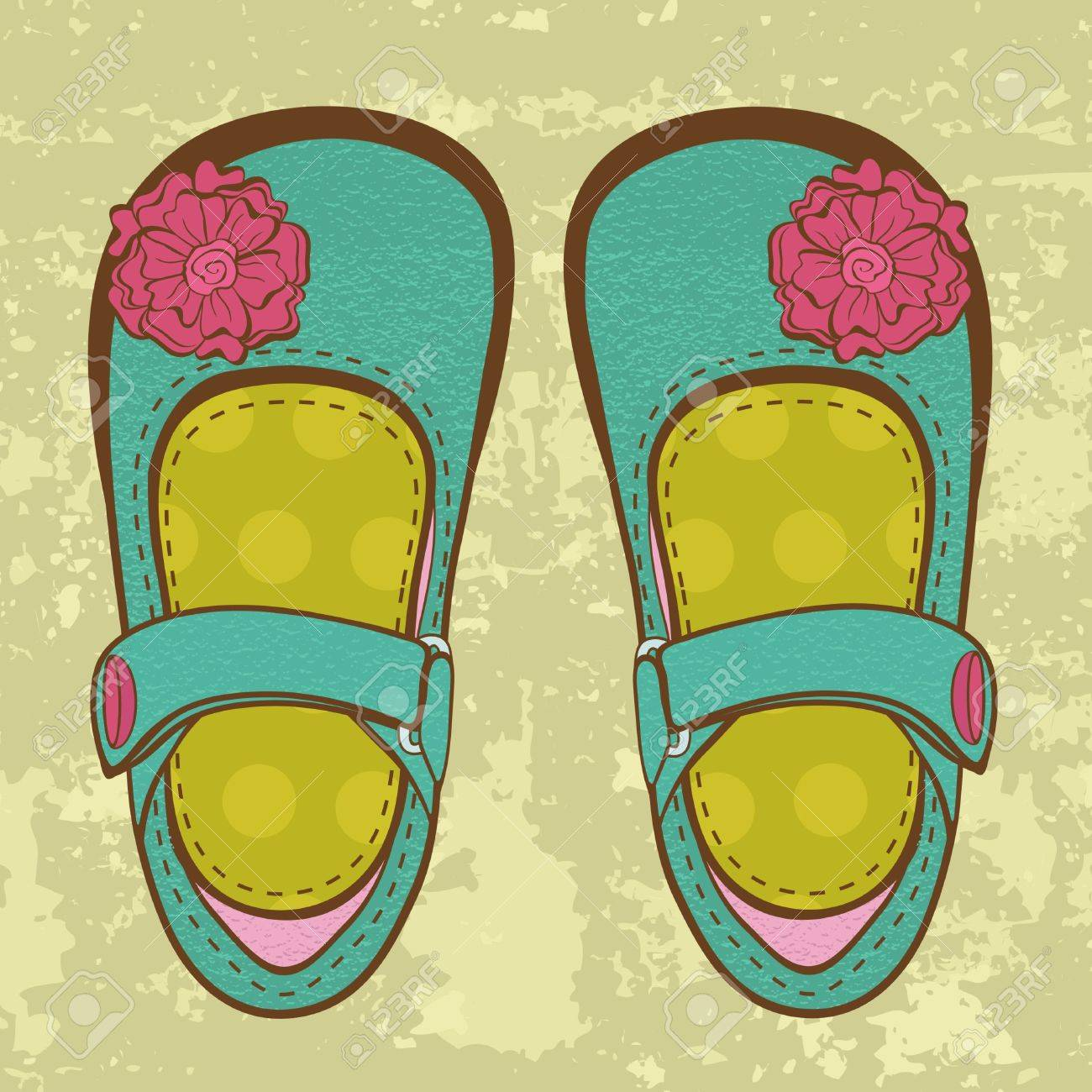 Girl Shoes Clipart Girl Shoes Fashionable Baby