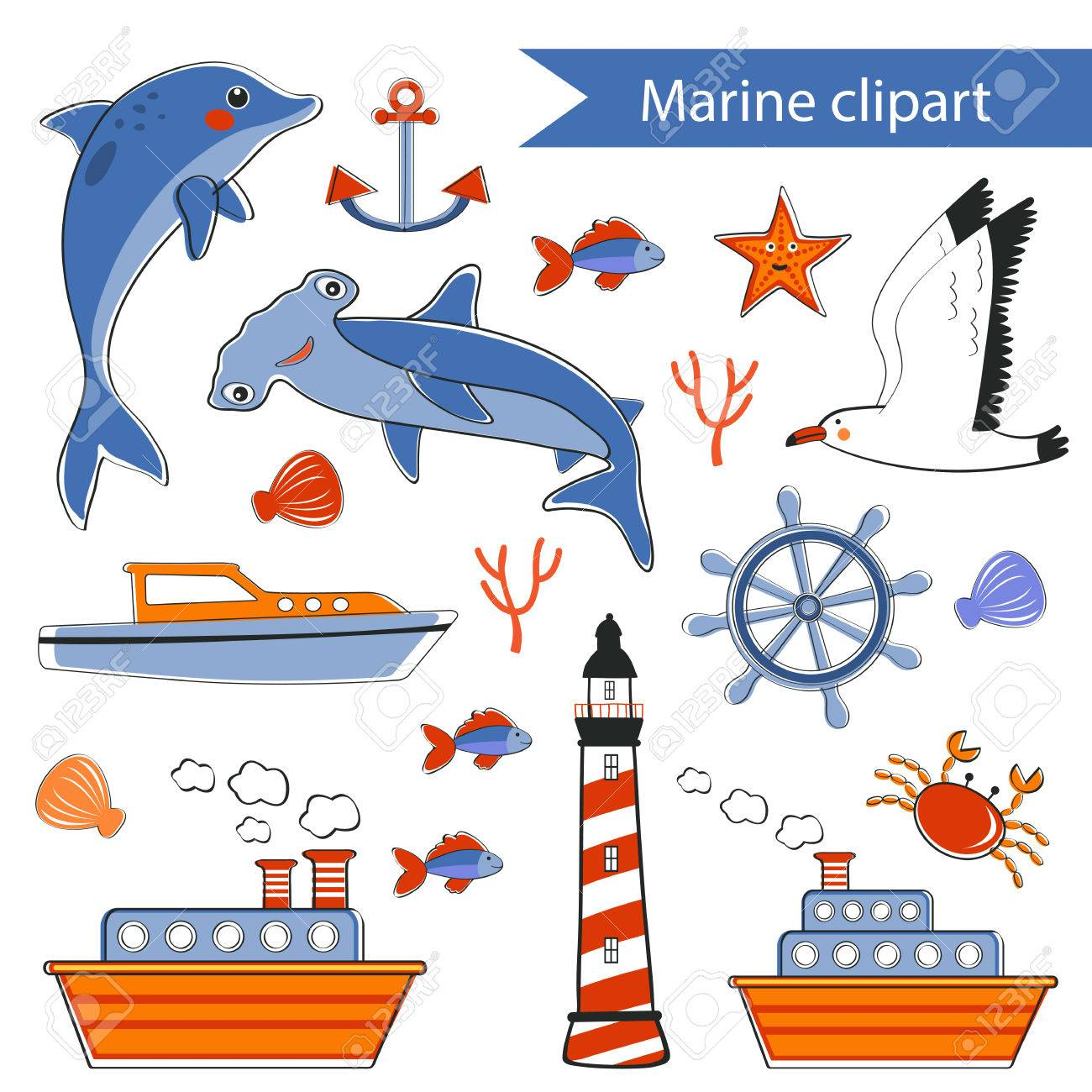 marine clipart stock photo picture and royalty free image image rh 123rf com clipart marine corps emblem marine clipart black and white
