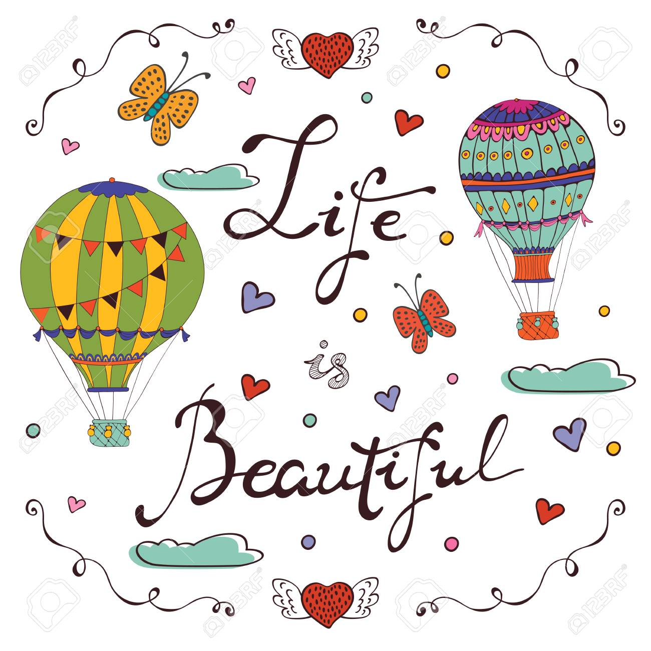 life is beautiful words