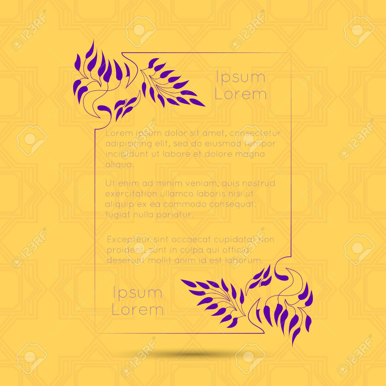 Border designs for greeting cards template design for invitation border designs for greeting cards template design for invitation menu labels poem m4hsunfo