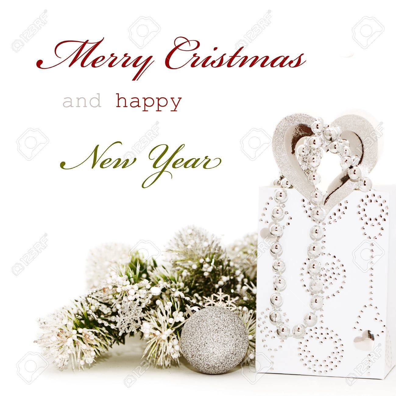 Christmas greeting card with sample text stock photo picture and christmas greeting card with sample text stock photo 15122122 m4hsunfo