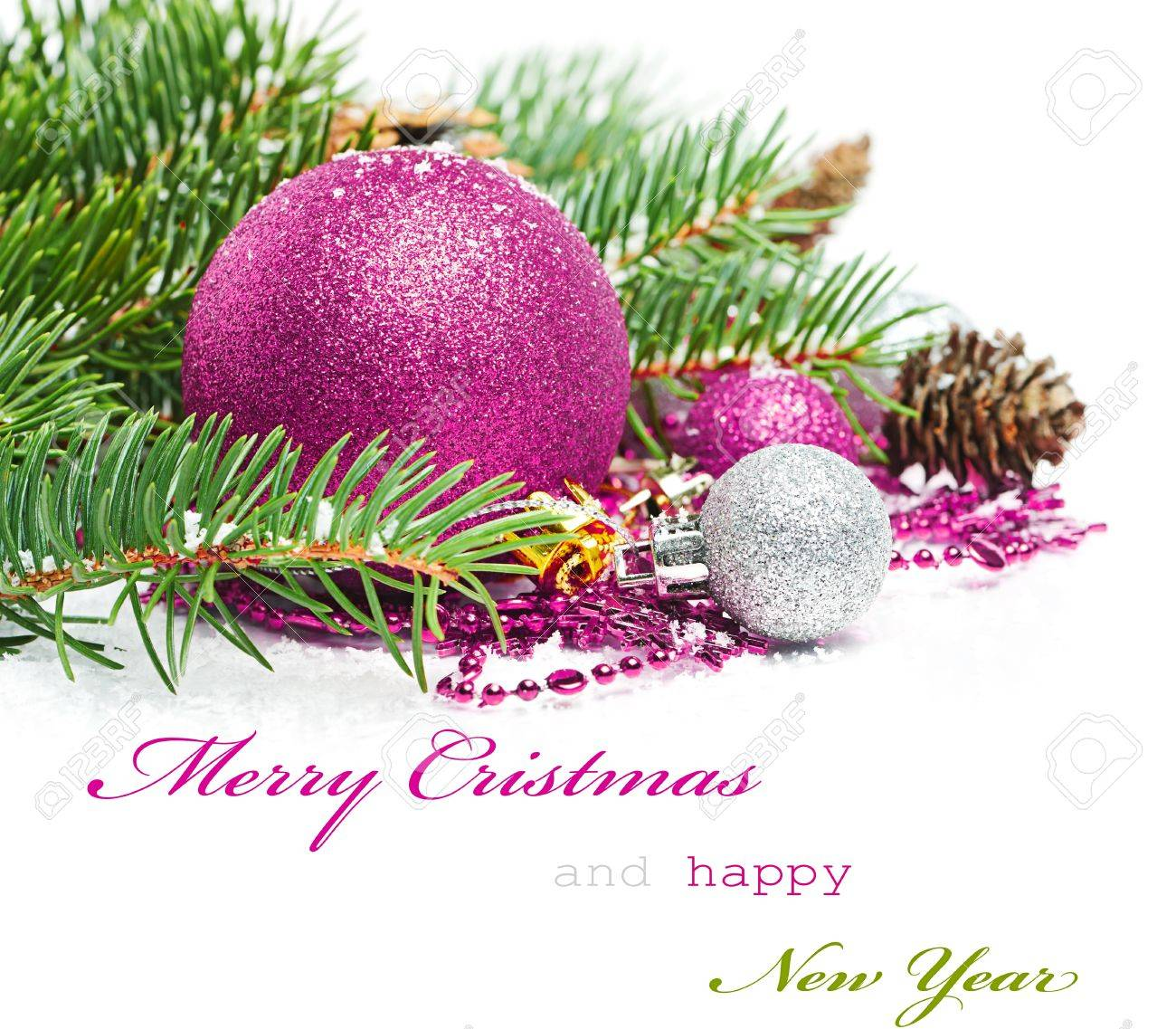 Christmas Greetings Card Stock Photo Picture And Royalty Free Image