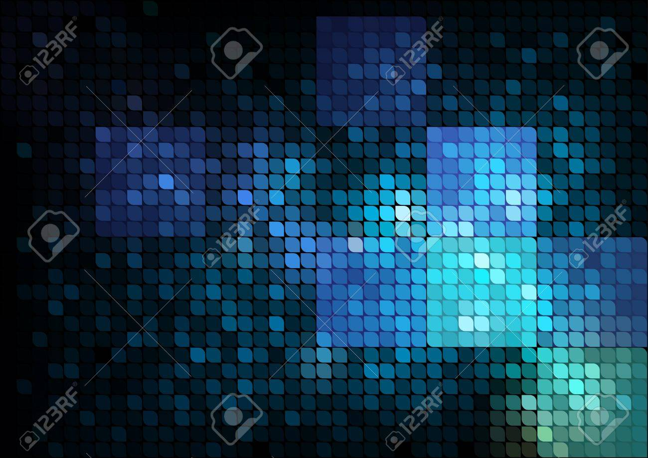 Blue mosaic abstract background Stock Vector - 10906008