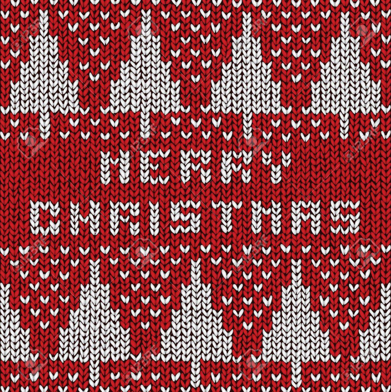 Christmas Sweater Background.Christmas Sweater Background Vector Eps10 Illustration