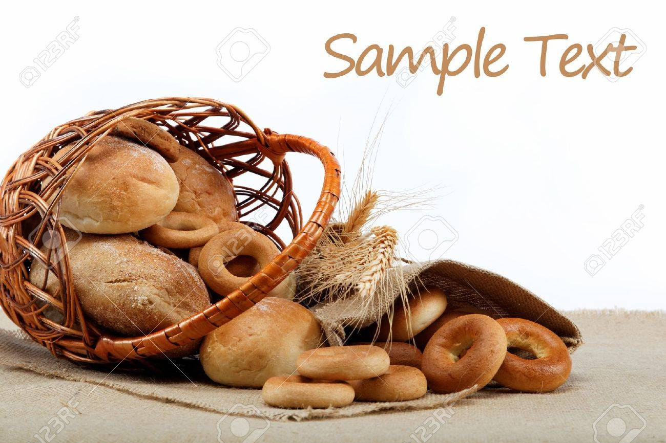 Fresh breads for a variety of sacking. Stock Photo - 15188664