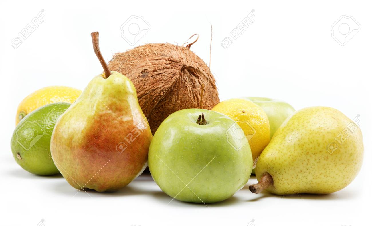 fruits isolated on a white background. Stock Photo - 15050705