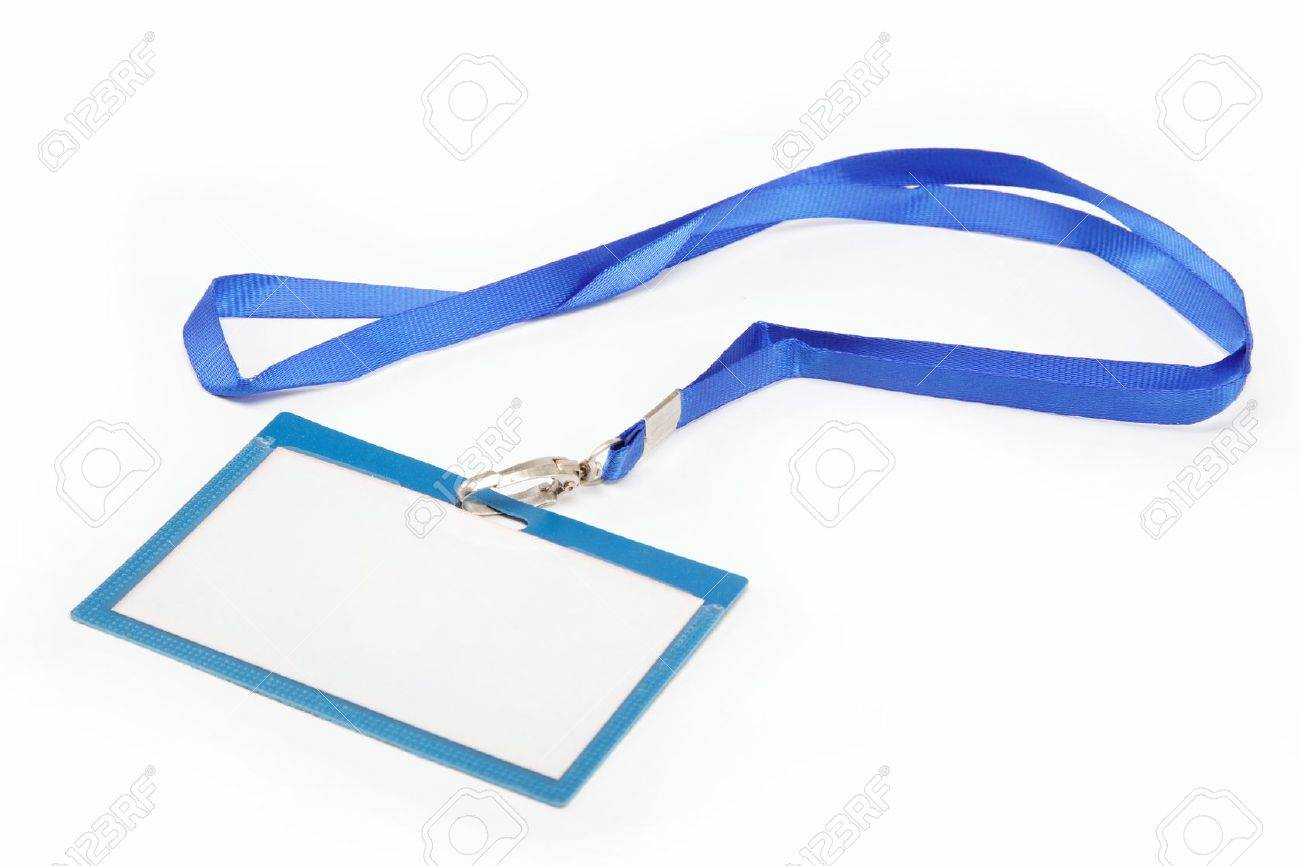 Name Tag with white background - 15223859