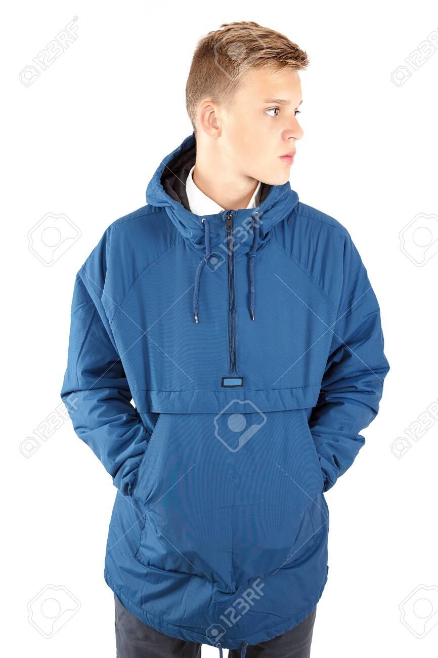 Stylish young guy isolated on white background. - 154665066