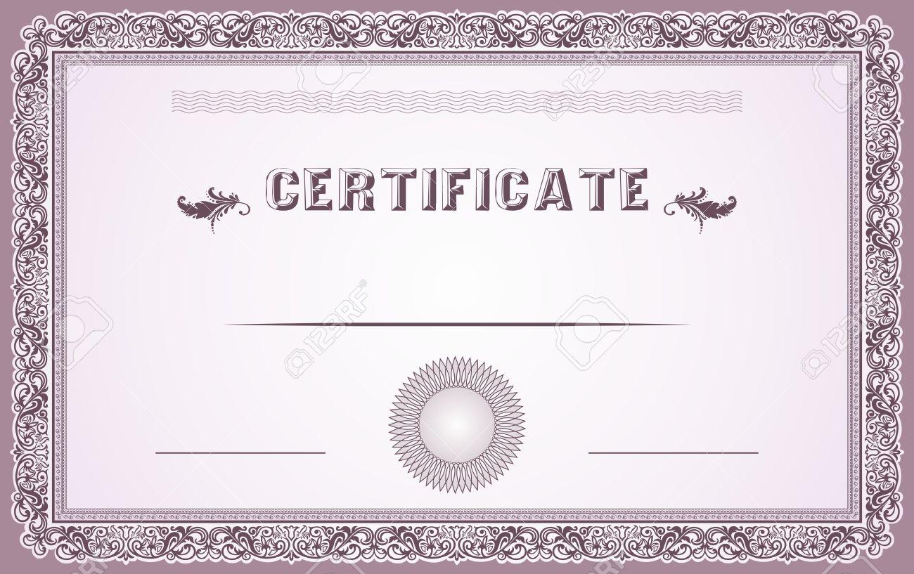 Certificate border design templates etamemibawa certificate border design templates yadclub Images
