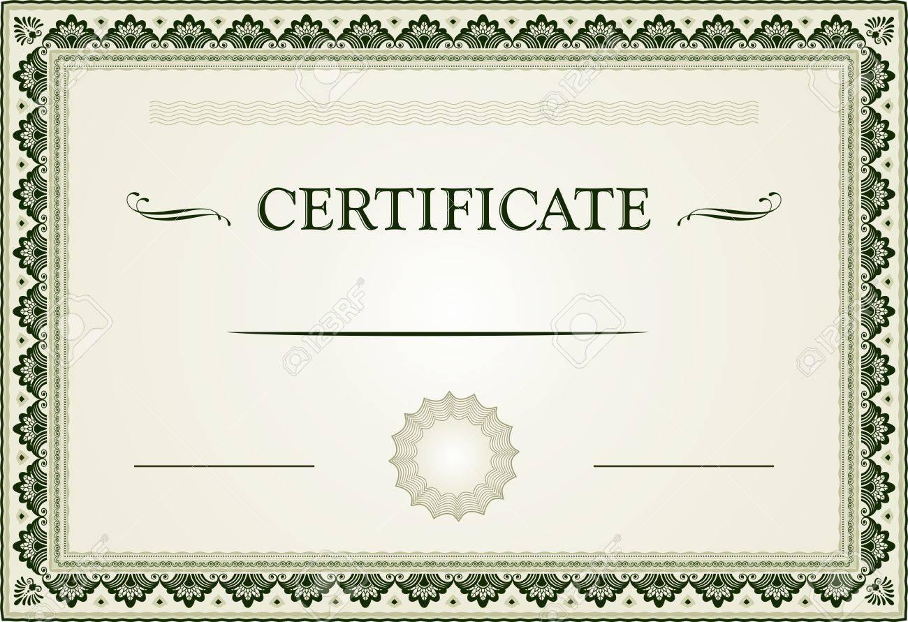 Beste Echtheitszertifikat Vorlagen Ideen - Entry Level Resume ...