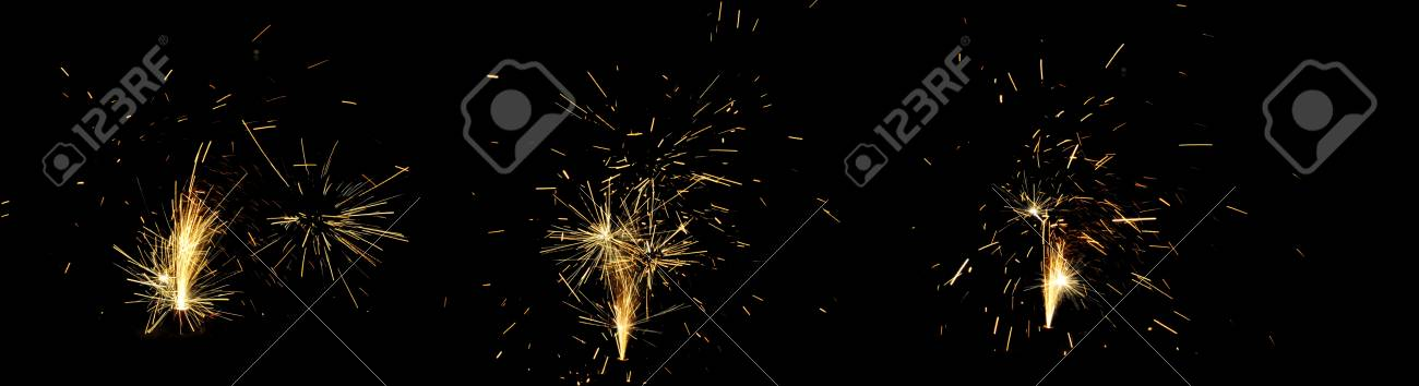 fireworks on guy fawkes night in taupo new zealand stock photo