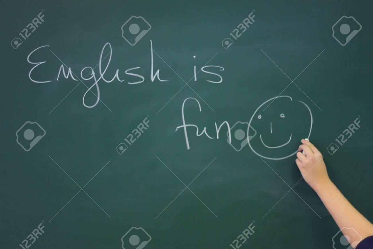 Eslogan En Eslogan En La Inglés Pizarra Inglés Tul3FcK1J