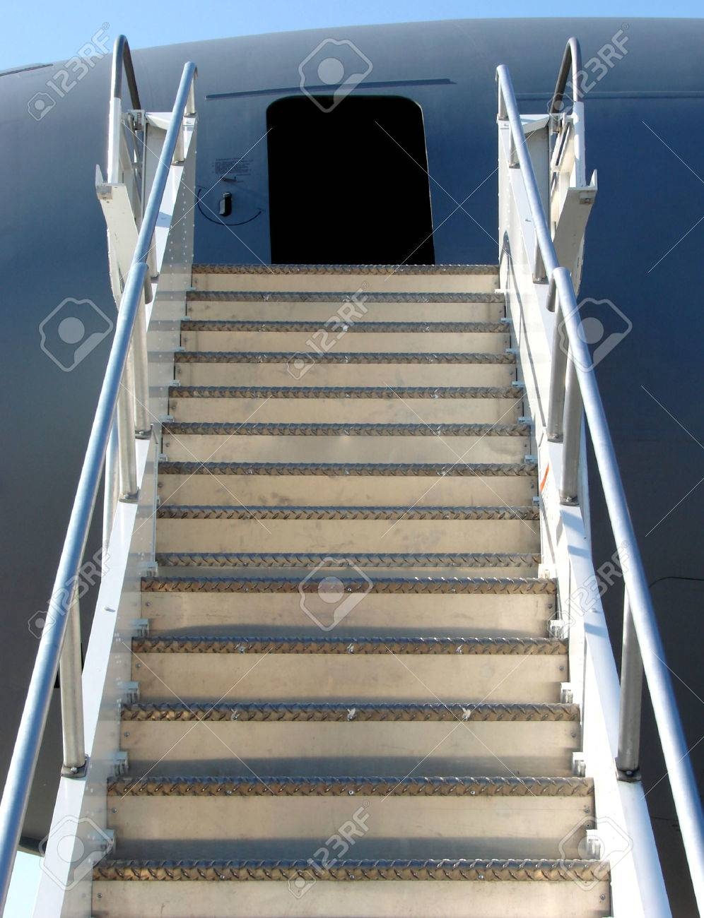 Mobile loading r& on a plane with open door Stock Photo - 1717973 & Mobile Loading Ramp On A Plane With Open Door Stock Photo Picture ... Pezcame.Com