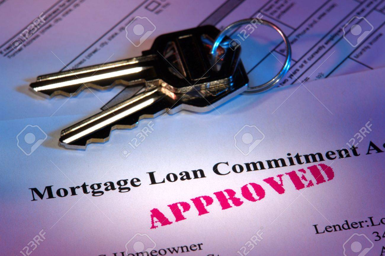 Residential Mortgage Loan Commitment Letter With Approved Stamp – Mortgage Commitment Letter