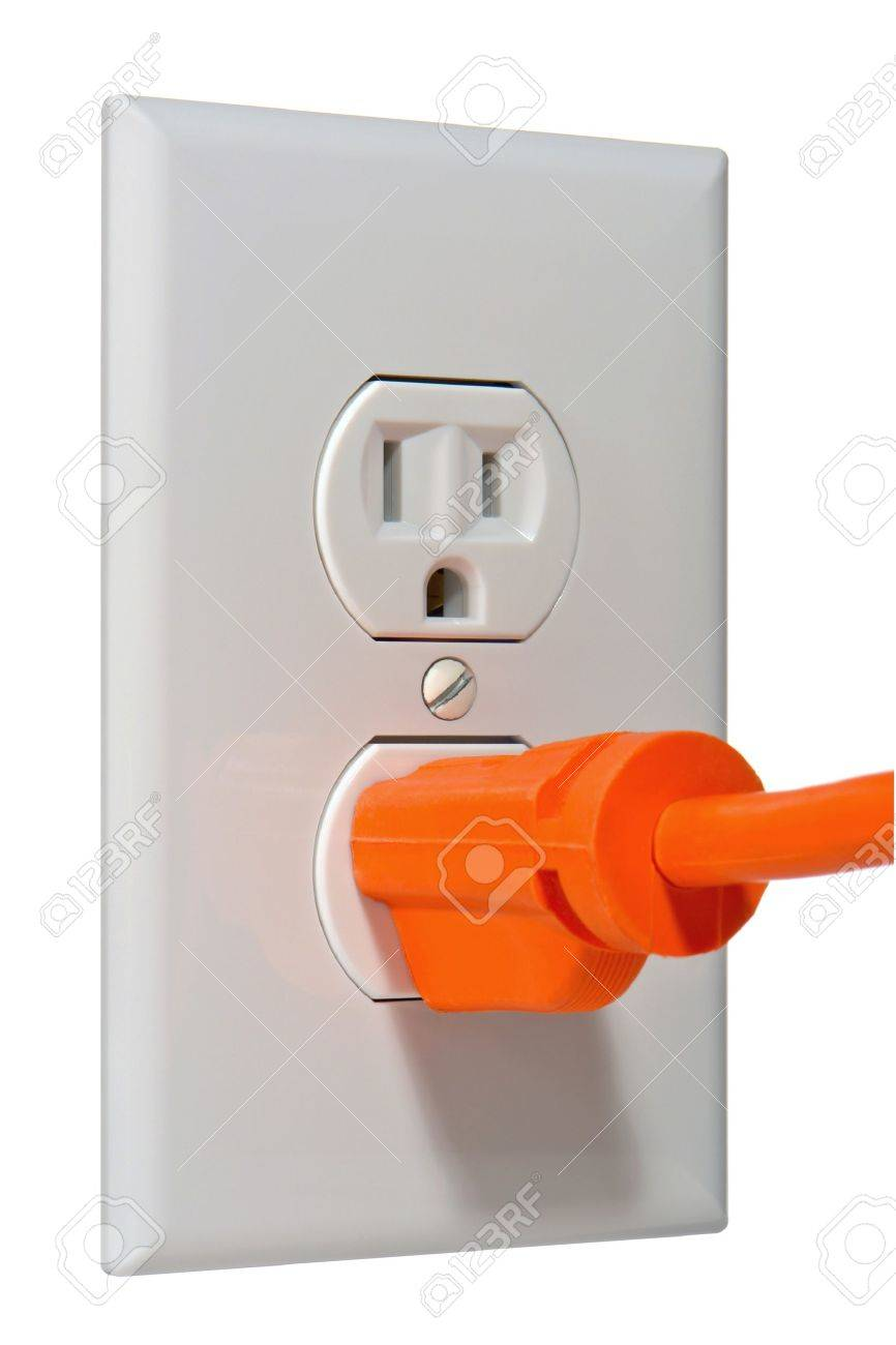 North American Standard 110 Volt Electric Wall Outlet Receptacle ...