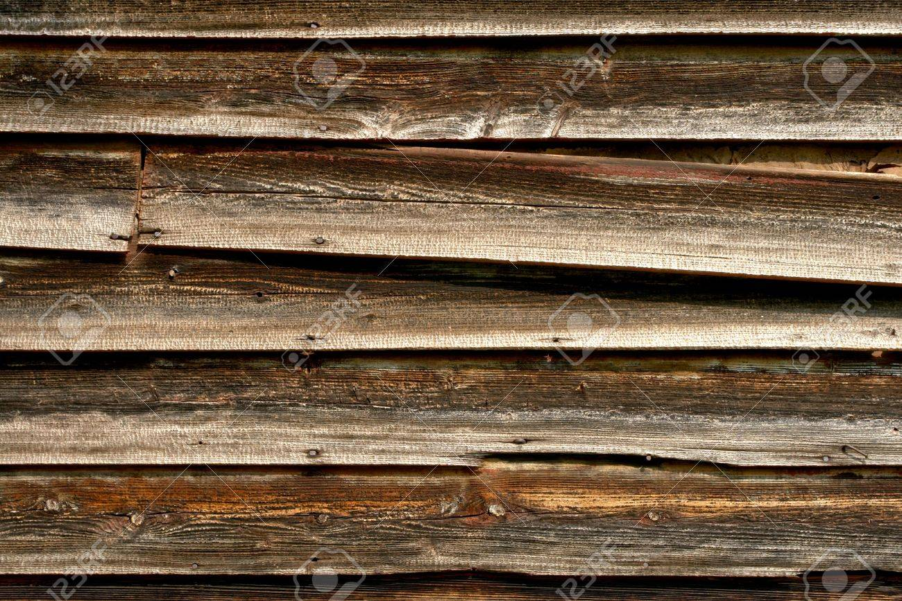 Weathered old barn wood clapboard siding Stock Photo - 4950783