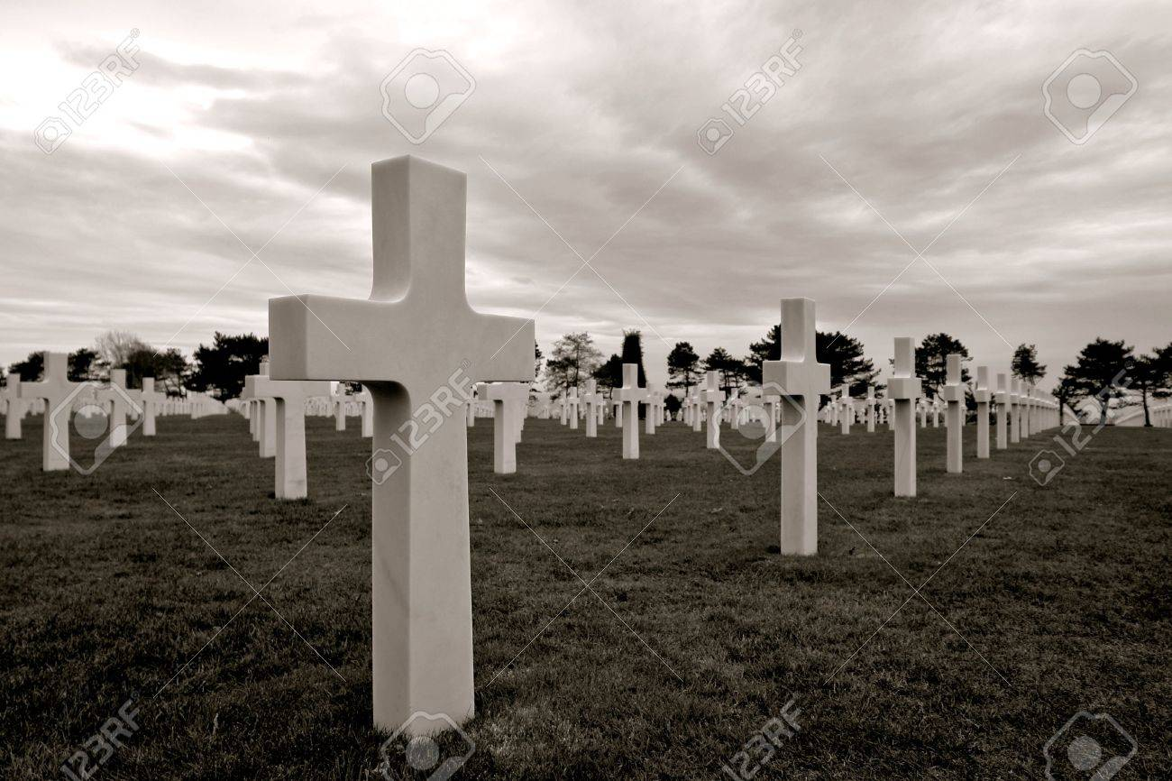 D Day Normandie 1944 Alliierten Invasion Strände Historischen Site