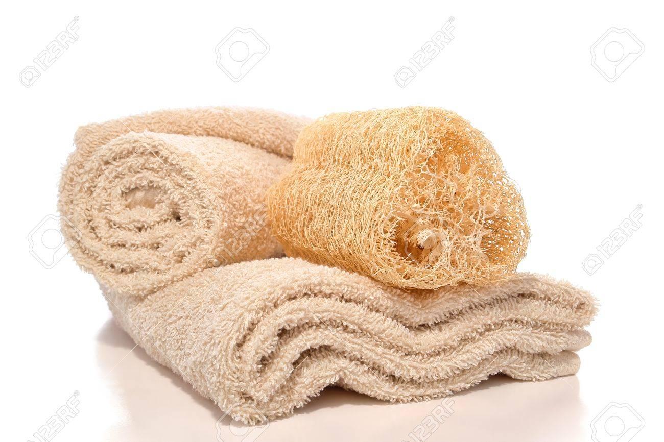 Natural Loofah Skin Cleansing Care And Exfoliating Scrub Sponge