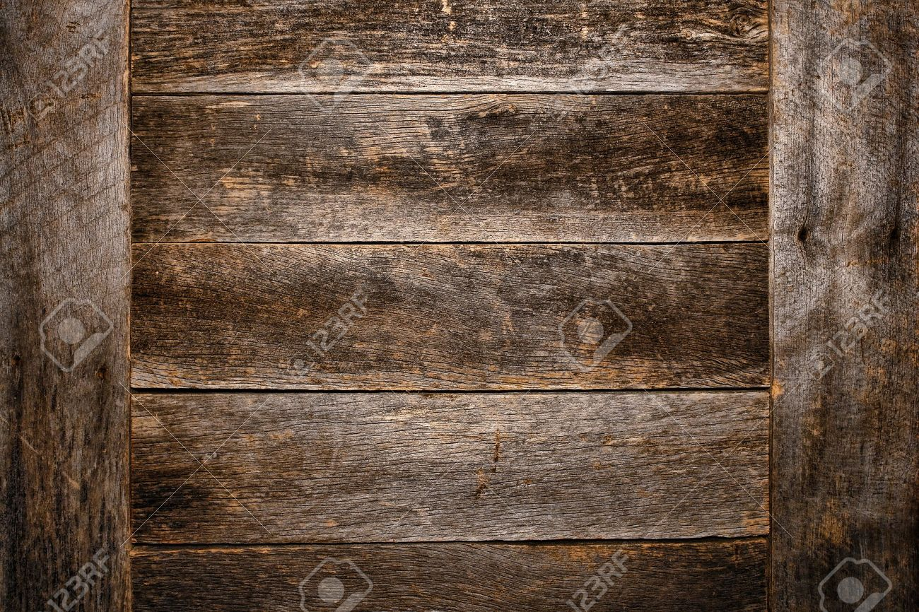 Old wooden boards as background - Old And Antique Wood Plank Board Grunge Background Made Of Aged And Weathered Vintage Barn Wood