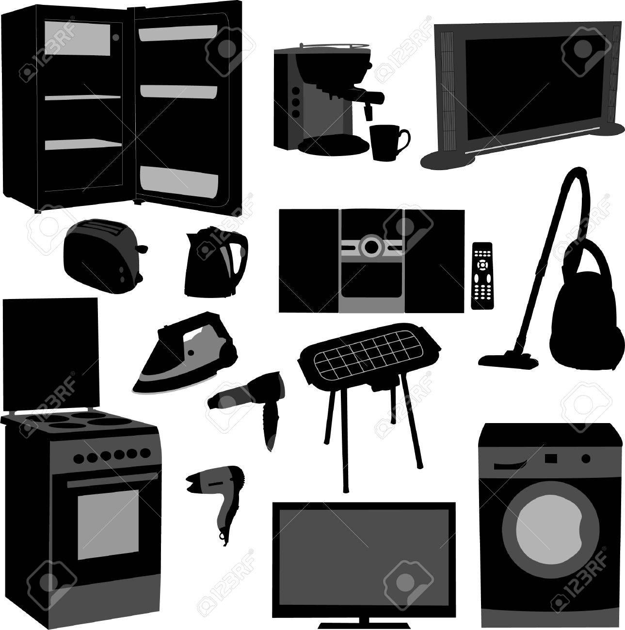 house appliance - vector Stock Vector - 9040567