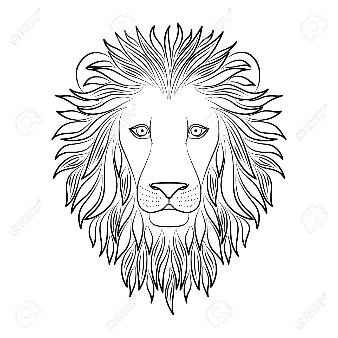 Lion Outline Black And White – Roof sign silhouette stencil symbol tail tiger uspto washing whiskers wildlife yellow black and white coloring book animal figure snout fictional character grizzly bear whippet canidae felidae terrestrial animal vertebrate dog.