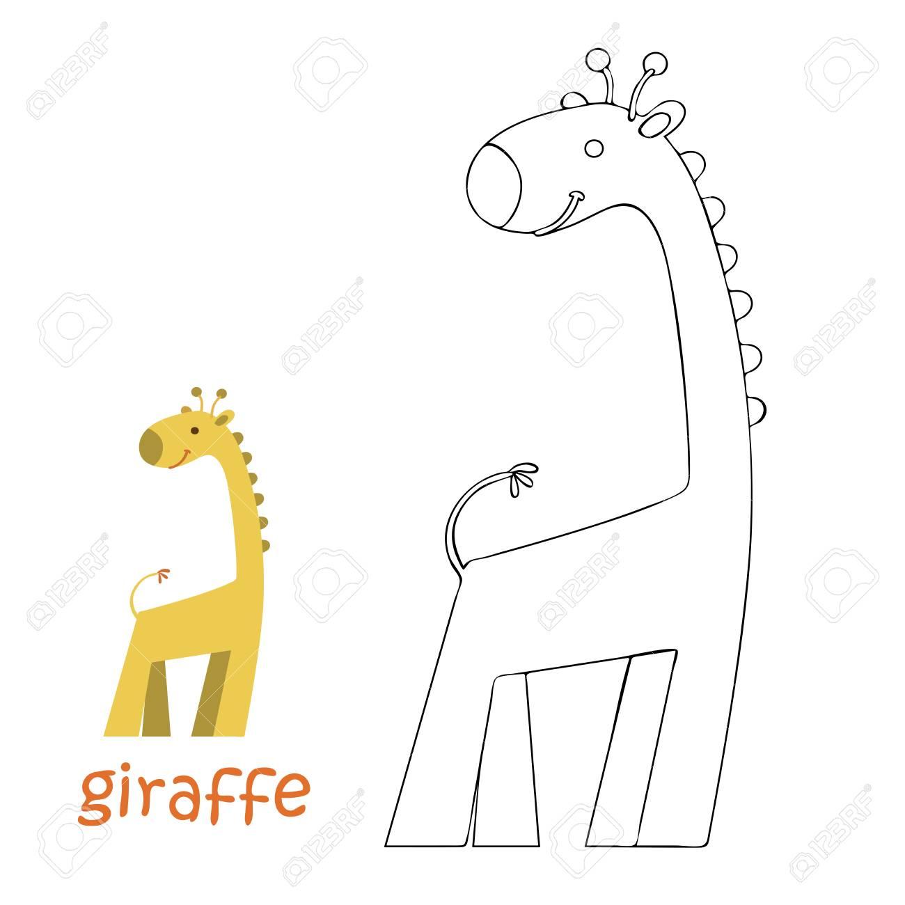 Großartig Giraffe Malbuch Fotos - Druckbare Malvorlagen - amaichi.info