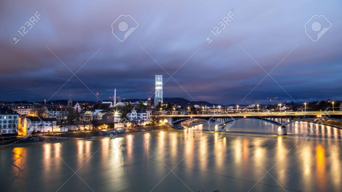 Panoramic view of Basel, Switzerland - 79041382