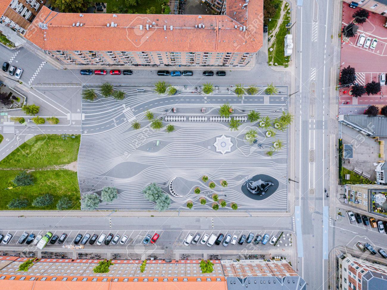 Superkilen Park in Copenhagen, Denmark - 171014258