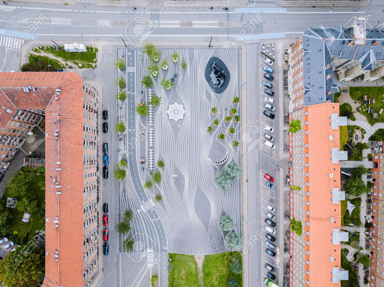 Superkilen Park in Copenhagen, Denmark - 171014256