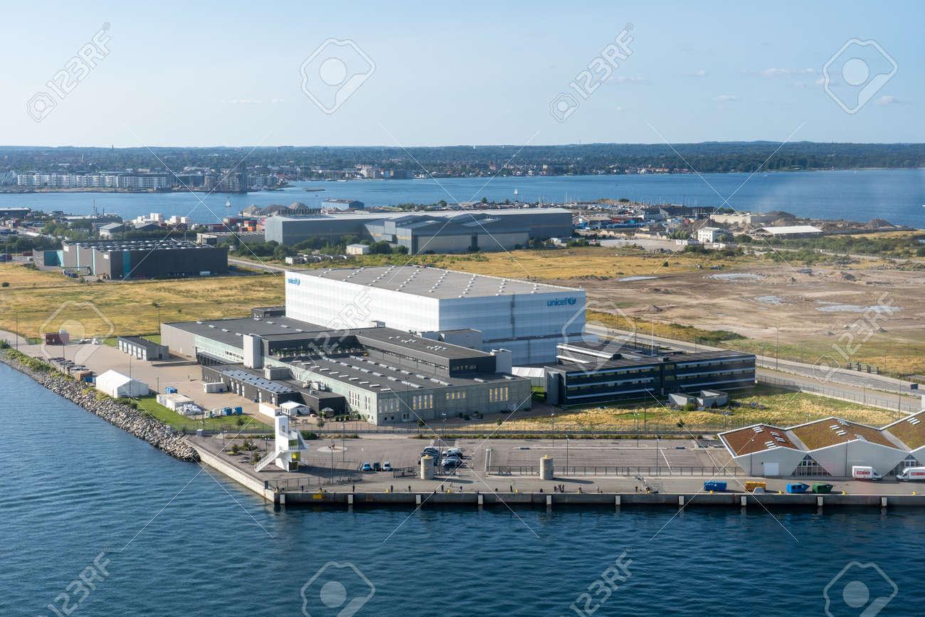 UNICEF supply and logistics headquarters in Copenhagen - 173498491