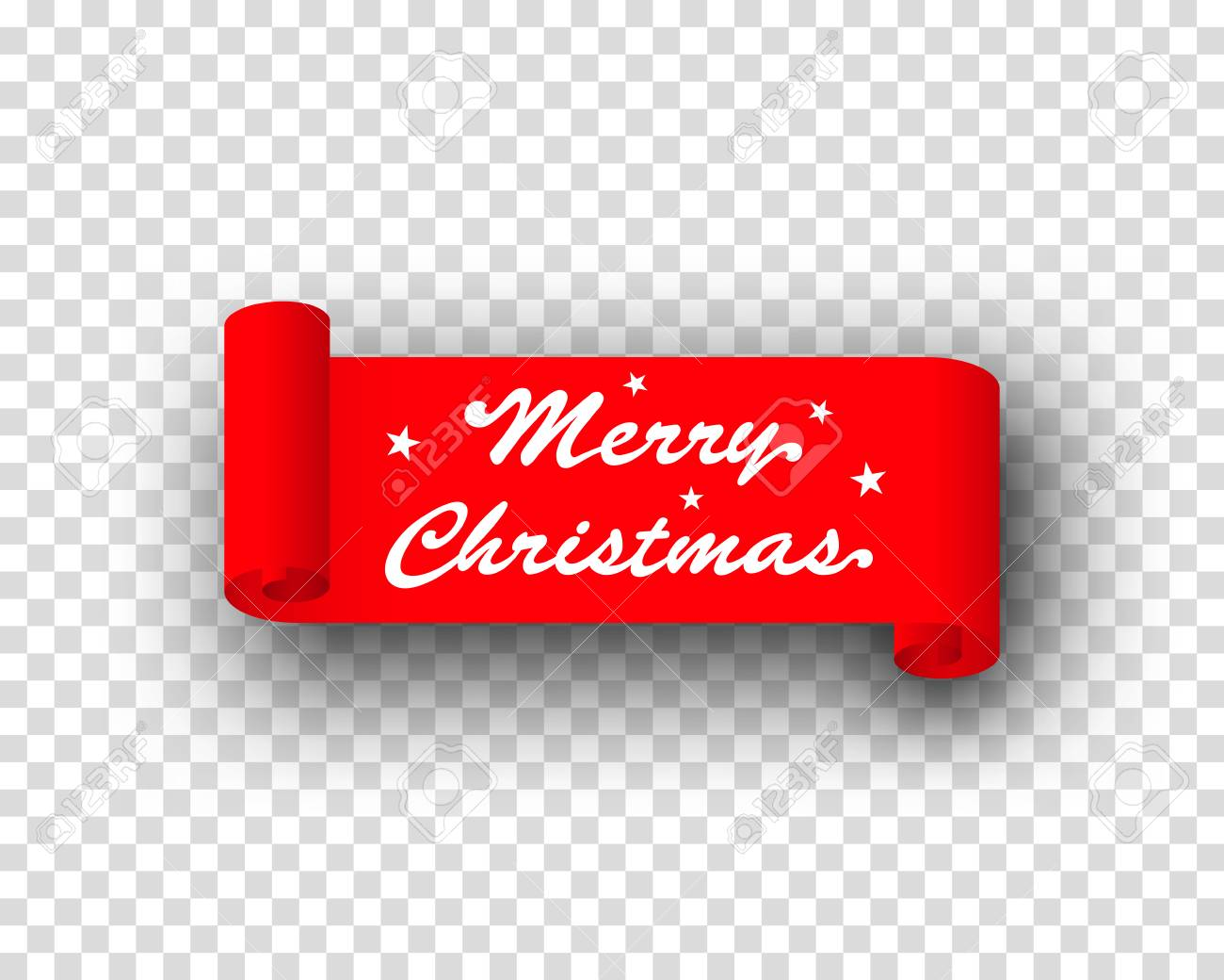 merry christmas logo on red ribbon transparent royalty free cliparts vectors and stock illustration image 70623993 merry christmas logo on red ribbon transparent