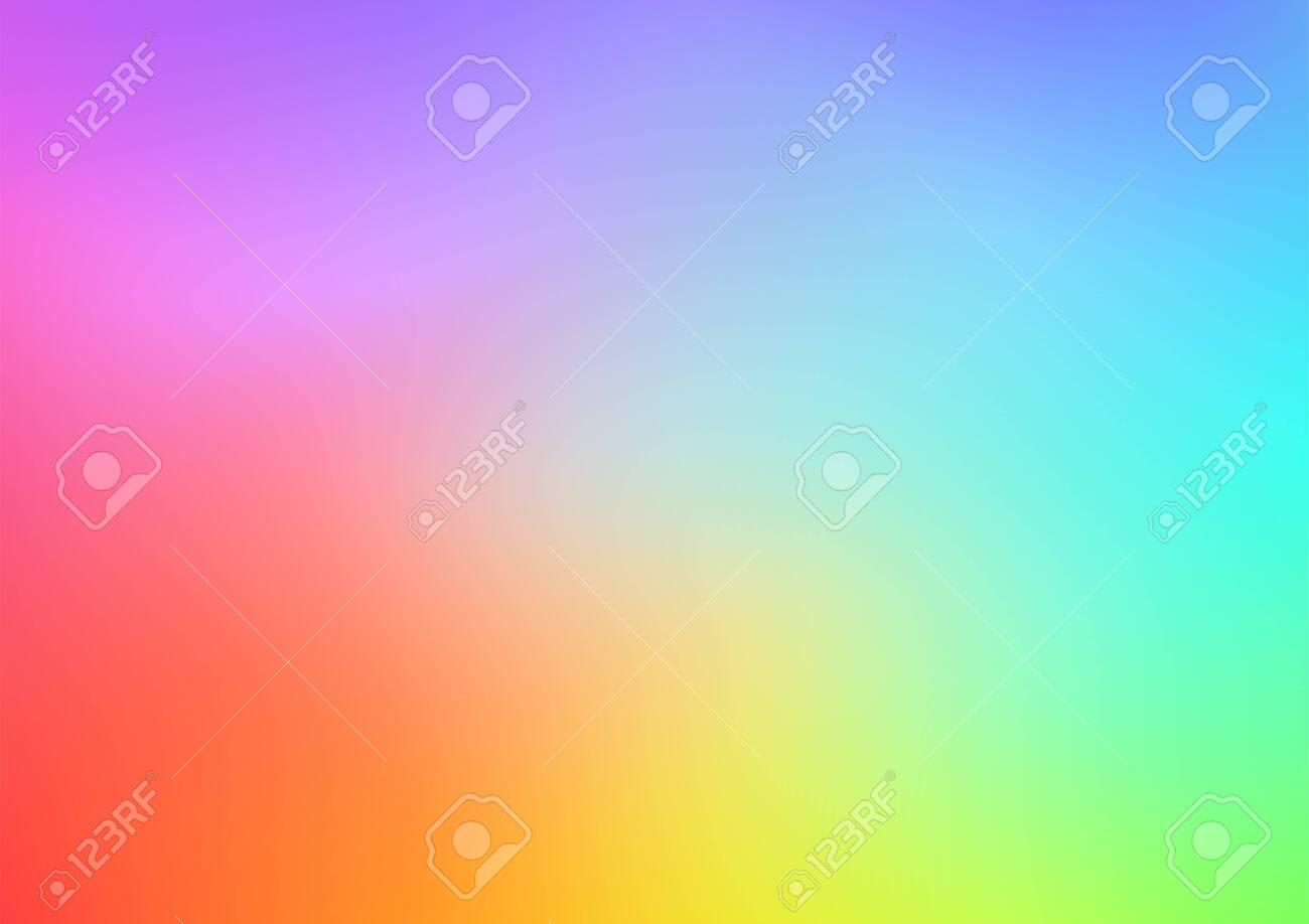 Abstract Gradient Blur Multicolor Background Landscape - 146239216
