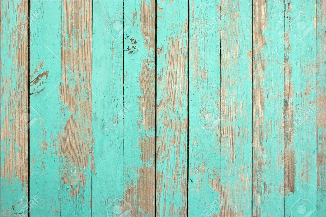Wooden texture aqua color for the image. Closeup. - 35018120