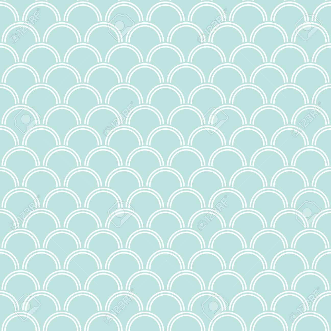 Seamless wave pattern - 114708483