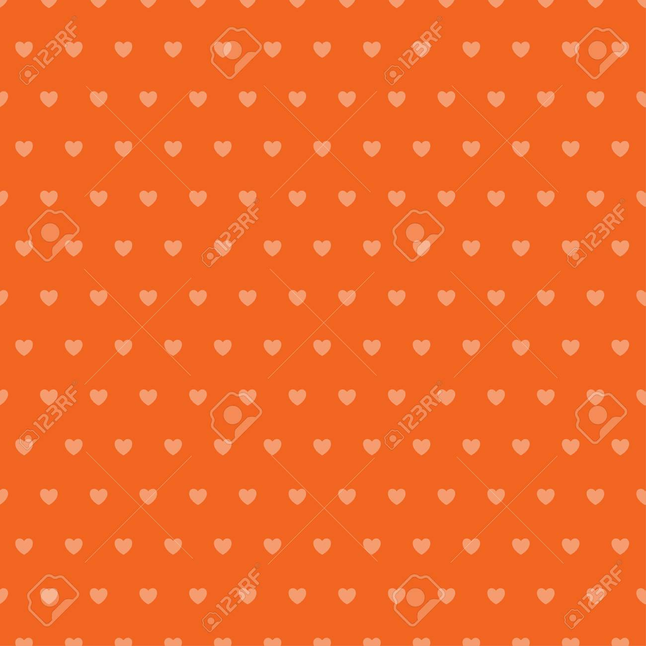 Abstract heart seamless pattern. - 114708489