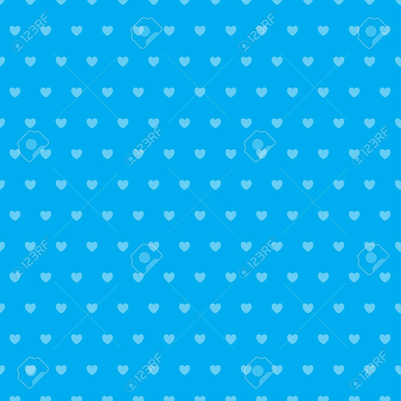 Abstract heart seamless pattern. - 114708493
