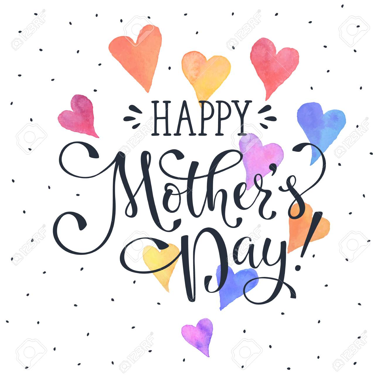 mother s day greeting card template happy mothers day wording