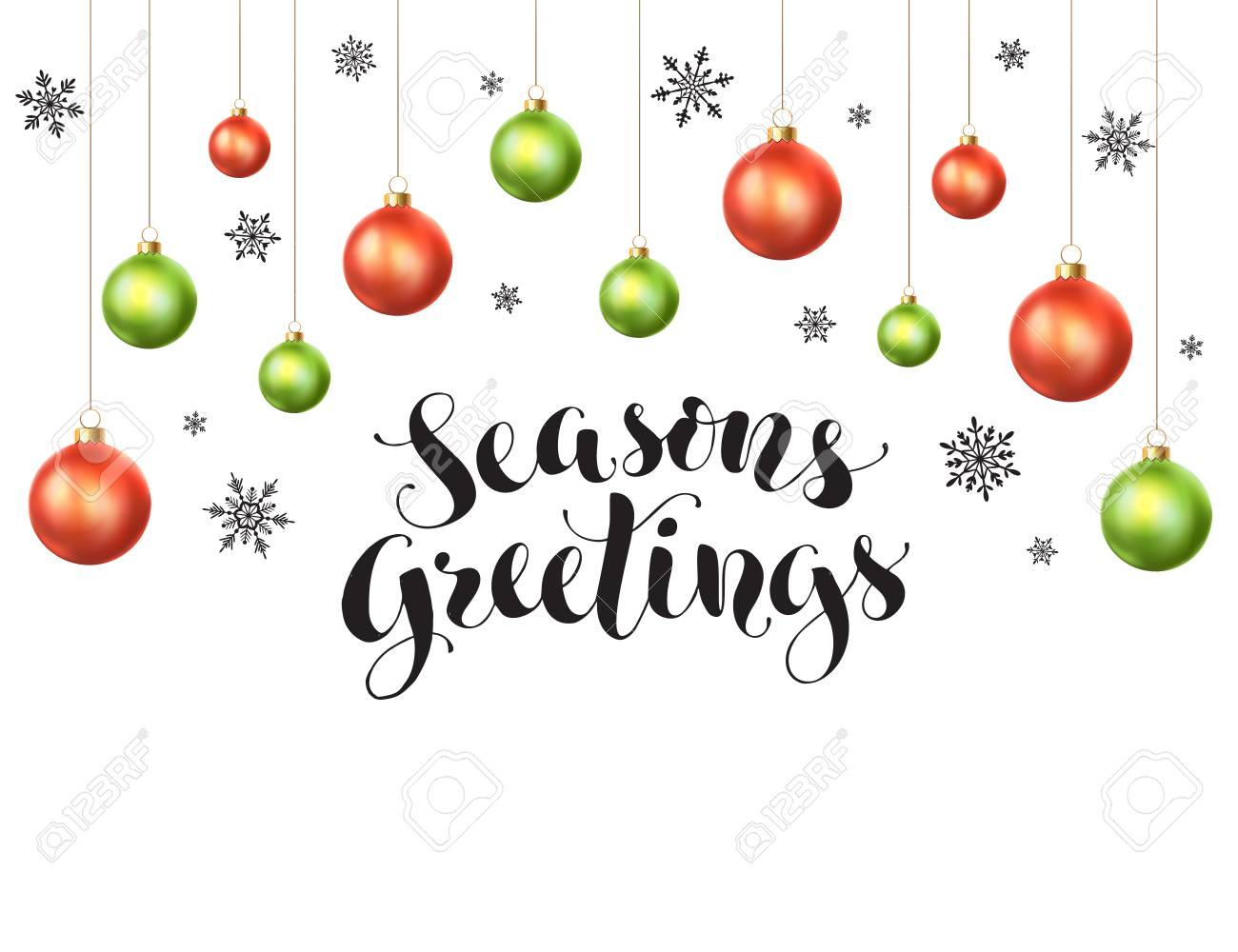 Seasons greetings card vector template humorous christmas cards happy holidays greeting card template modern new year lettering 67516405 happy holidays greeting card template modern new year lettering with snowflakes ans kristyandbryce Image collections