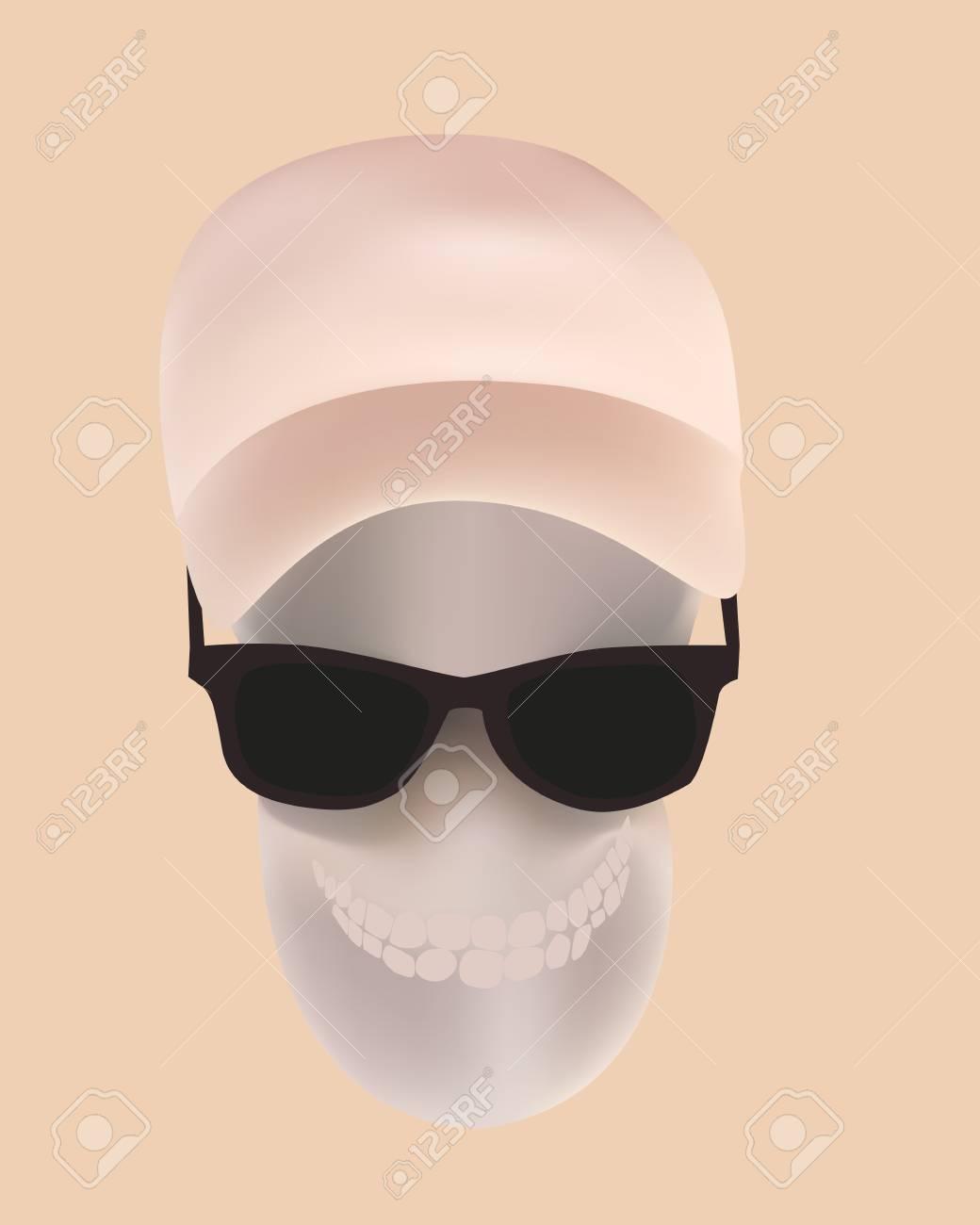 Vector illustration of human skull Stock Vector - 16607733