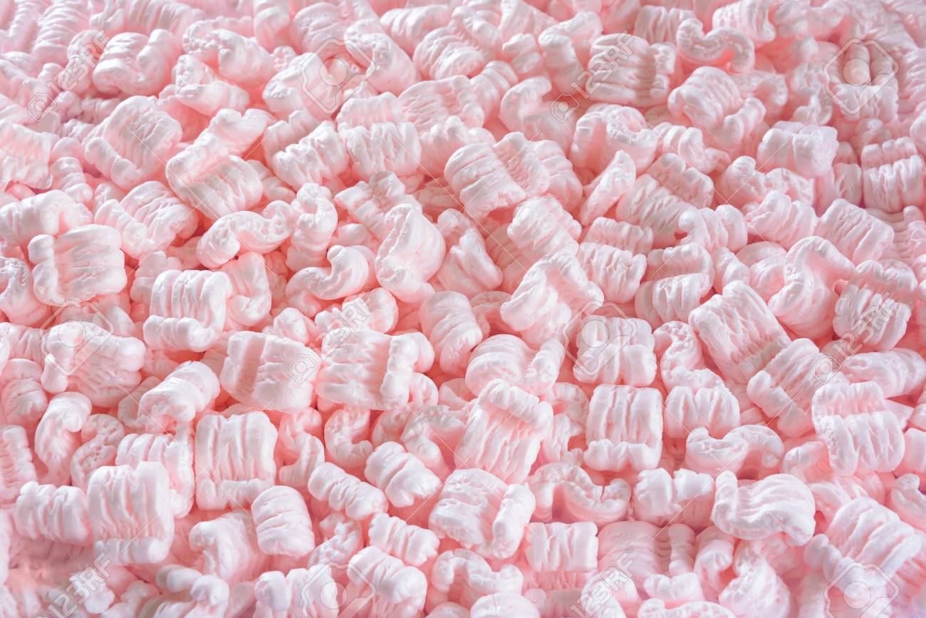 101375023-s-shaped-pink-packing-peanuts-