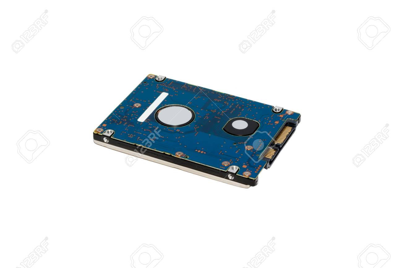 hard disk drive  isolated on white in studio Stock Photo - 11814760