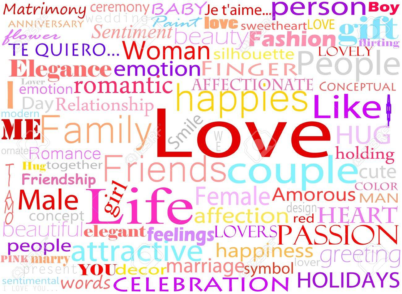 Seamless pattern made from words which relate with word love royalty seamless pattern made from words which relate with word love stock vector 13173921 biocorpaavc Images