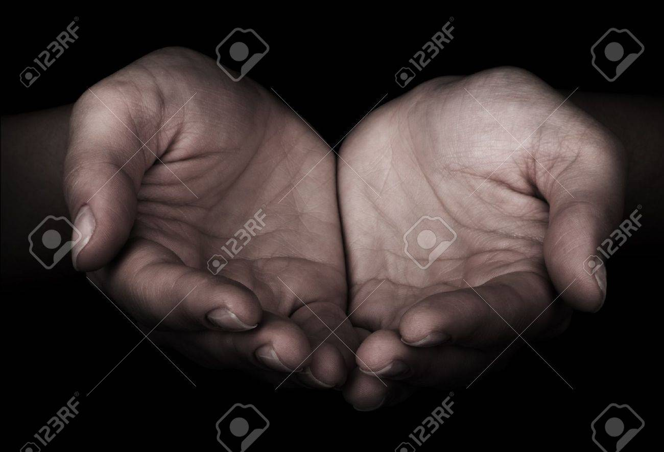 Woman hands as if holding something Stock Photo - 15890178