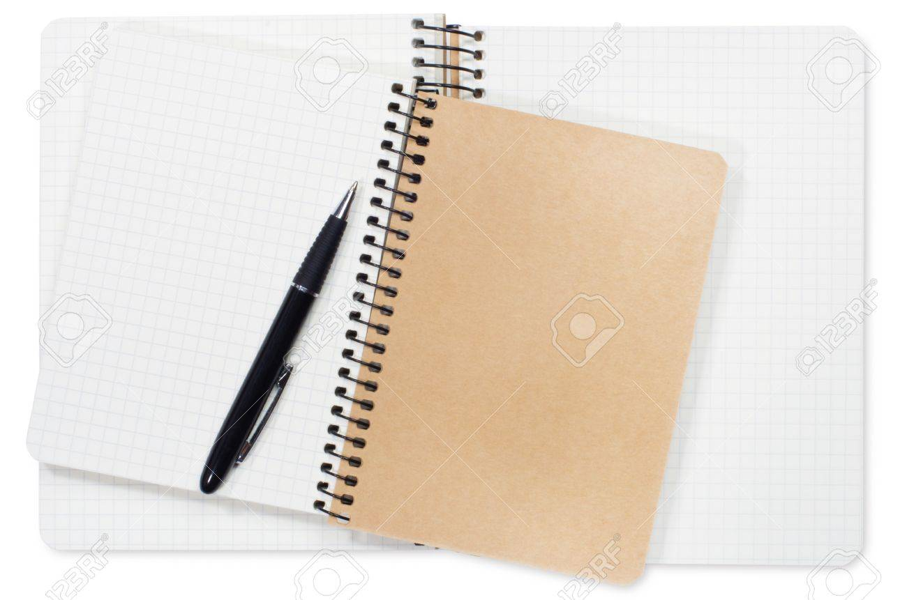 old notebook Stock Photo - 17370009