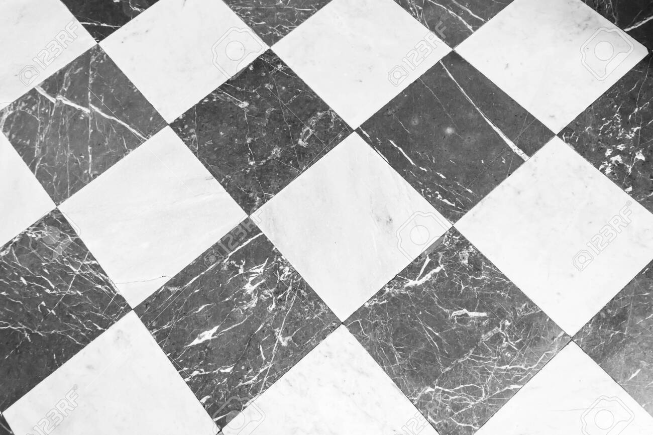 Black And White Checkered Marble Floor Marble Texture For Background Stock Photo Picture And Royalty Free Image Image 126286455