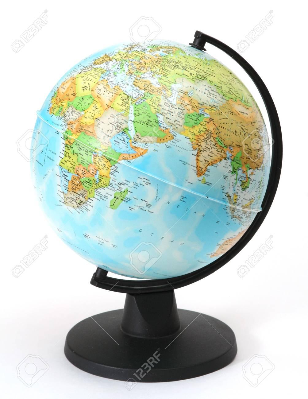Karte Erde.Stock Photo