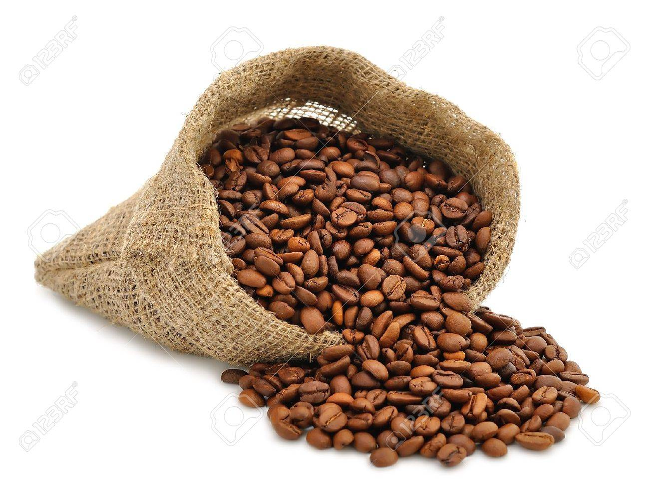 Coffee beans in a bag Stock Photo   14694036. Coffee Beans In A Bag Stock Photo  Picture And Royalty Free Image