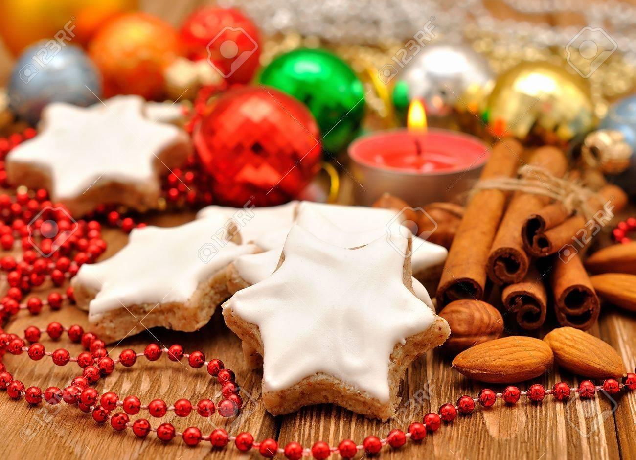 Christmas star cookies Stock Photo - 15362078